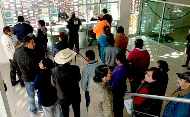 Protestan en la capital zacatecana por incremento del predial