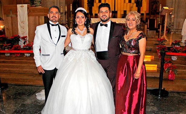 Cindy y Juan unieron sus vidas en matrimonio