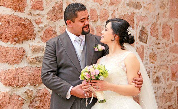 Karla y Pablo unieron sus vidas para siempre