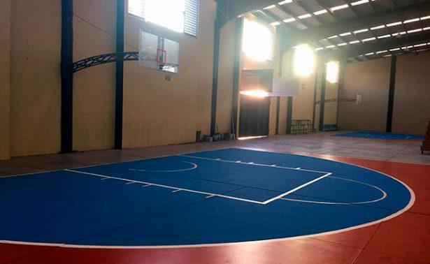 Recibe mantenimiento espacio deportivo de Jalpa