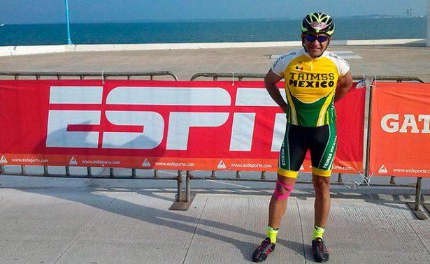 Yucatán ya espera al triatleta Carrillo Polo