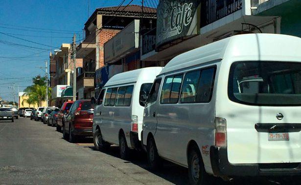 Suben tarifas de transporte público en el sur de Zacatecas