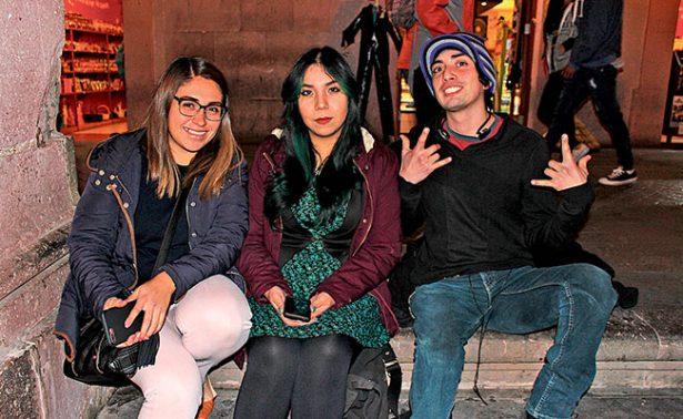 Una tarde de amigos en el centro de Zacatecas