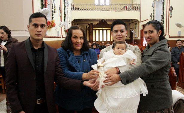 Gala Ileane recibió su primer sacramento