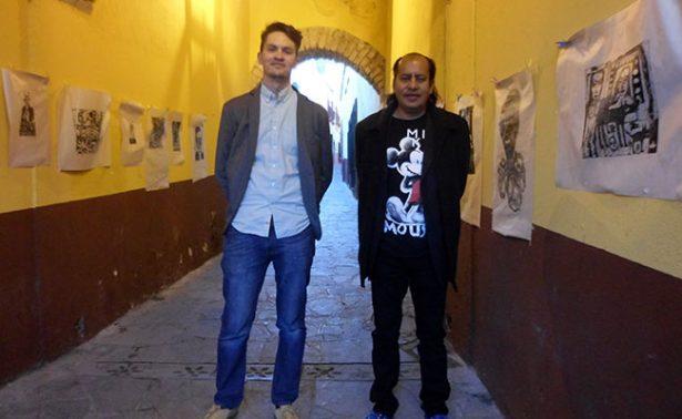 """""""Tendedero gráfico""""… el arte sale a la calle"""