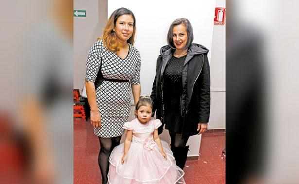 Festejaron los tres añitos de Amanda Muro