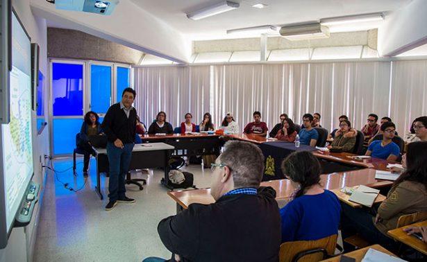 Imparten conferencia en UASLP sobre Chalchihuites, Zacatecas