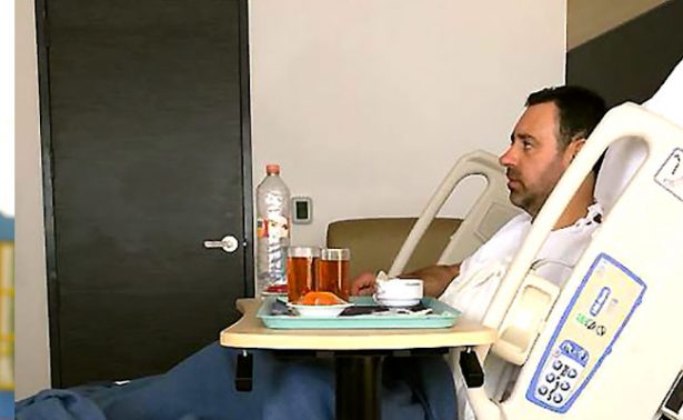 Realizan cirugía ambulatoria a gobernador de Zacatecas