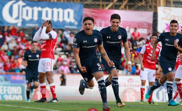 En auténtica lluvia de goles, Toluca le gana como visitante a Zacatecas