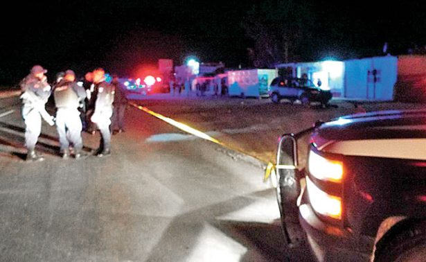 Dejan tres ejecutados en carretera Fresnillo-Jerez