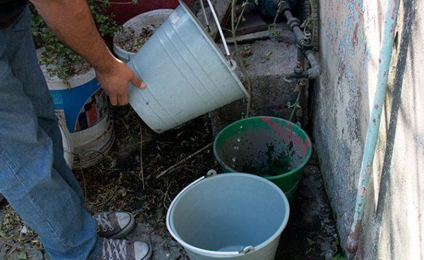 Persiste el problema del agua en la zona conurbada