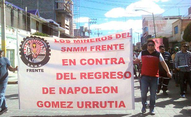 Mineros fresnillenses exhortan a voto de castigo contra AMLO