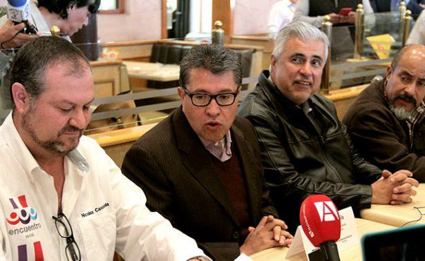"""""""No vengo a palomear a nadie"""", advierte Ricardo Monreal"""