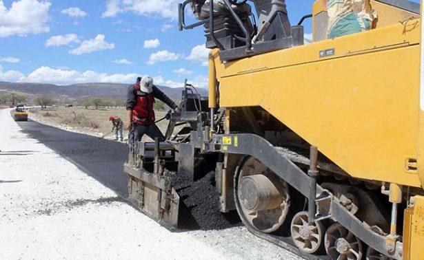 Carretera a La Pitaya, Jalpa, tiene 80 por ciento de avance