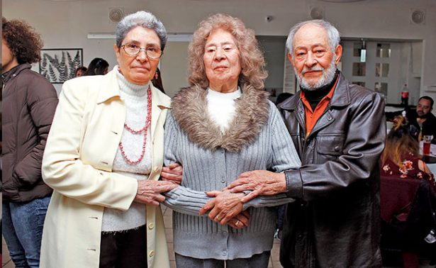 Blanca Elia celebró muy feliz 90 años de vida