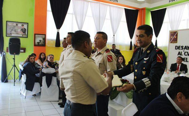 Celebran en Jalpa el Día del Ejército