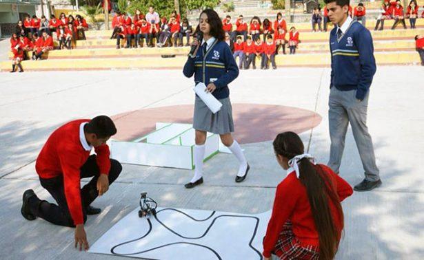 Jalpa; impulsan proyecto de robótica en telesecundaria