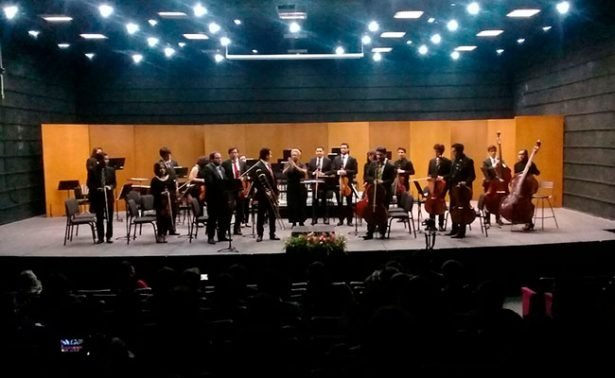 Orquesta Sinfónica Juvenil encantó en concierto