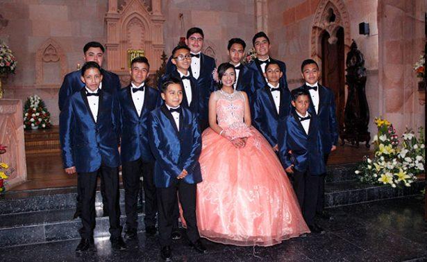 Celebraron los quince años de Citlalli Núñez