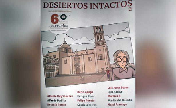 """Presentaron el suplemento cultural """"Desiertos intactos"""""""
