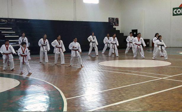 Entrarán en combate los taekwondoínes zacatecanos