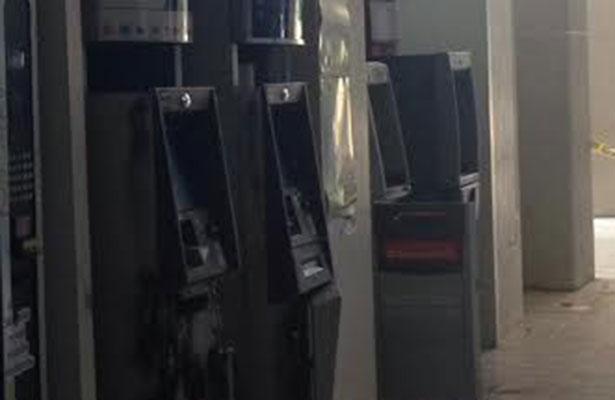 Frustran robo de 5 cajeros automáticos en Chiapas