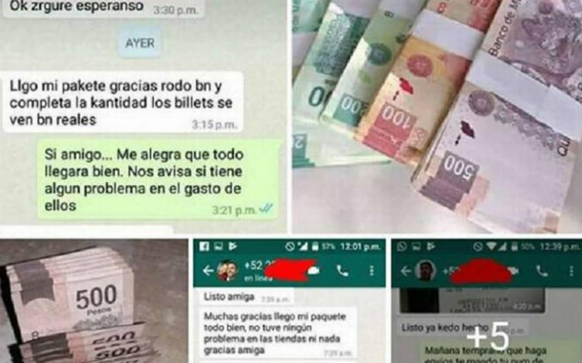 """Venden en redes sociales """"billetes clones de excelente calidad"""""""