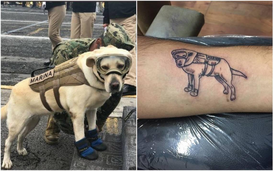 Heroísmo de Frida se convierte en tatuaje para ayudar a víctimas del sismo