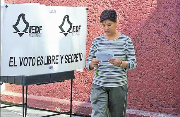 Calendario electoral; rumbo a las elecciones de 2018 en la capital