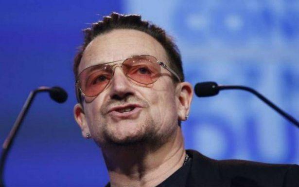Bono se disculpa por acusaciones de acoso en su ONG, ONE