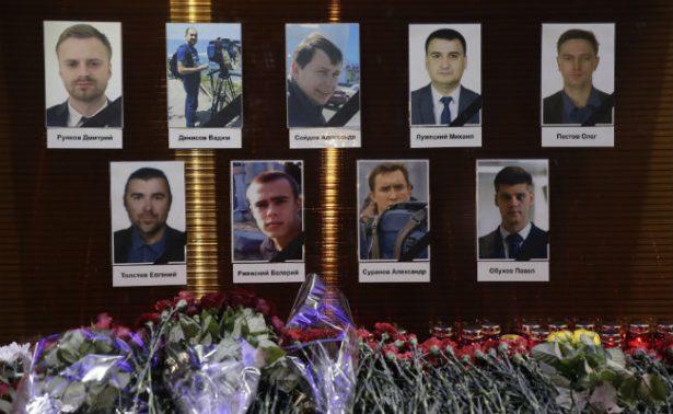 Confirman que avión ruso se estrelló en el Mar Negro; no hay sobrevivientes