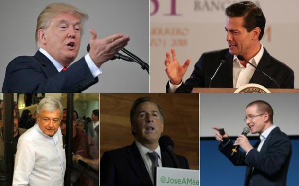 Algunos candidatos en México no son tan buenos, lidiaremos con ello: Trump