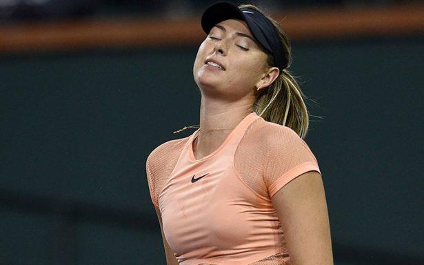 María Sharapova cae en el  torneo de Indian Wells ante la japonesa Naomi Osaka