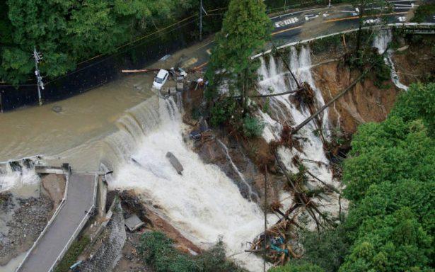 Suman siete muertos y 100 heridos por tifón Lan en Japón