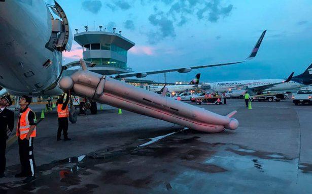 Evacuan avión de Volaris en Guadalajara por incendio