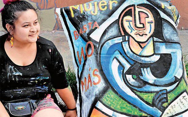 Muralistas nacionales y extranjeros realizan encuentro urbano dedicado a la paz