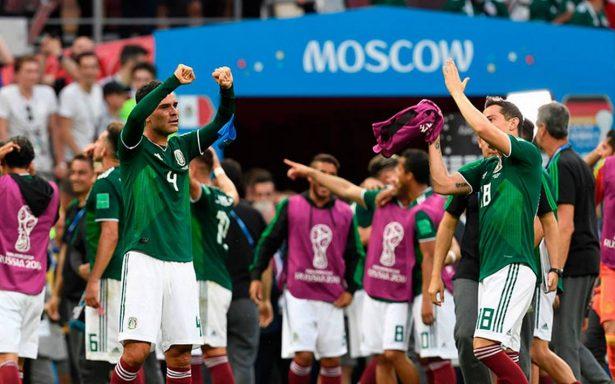 ¡México lindo y querido! El Tri vence 1-0 a Alemania en su debut en el Mundial