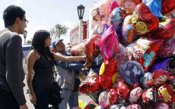 Aumentan las ventas por Día de San Valentín