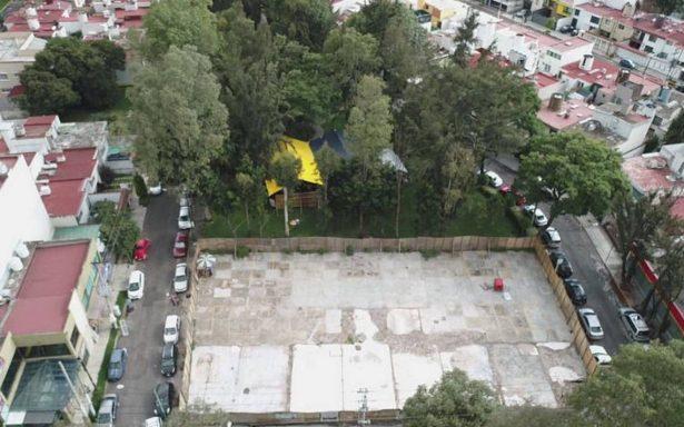 Inicia construcción de departamentos para damnificados en Tlalpan
