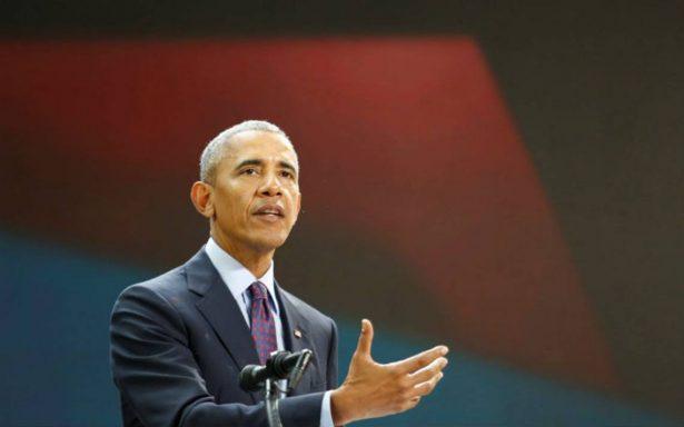 Obama regresa a la arena política en apoyo al candidato de su partido para 2018