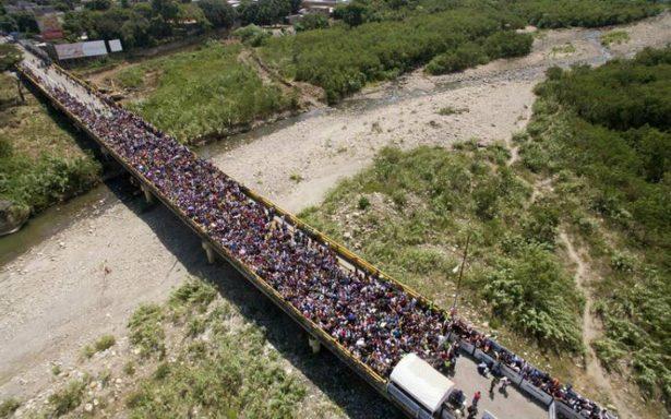 Éxodo venezolano, se duplica número de migrantes que llegan a Colombia