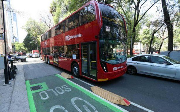 En Reforma circulan autobuses de doble piso, no Metrobús: Sheinbaum