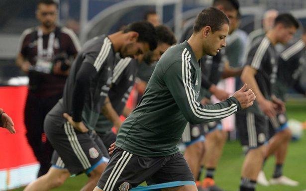 """Javier """"Chicharito"""" Hernández se incorporó a la selección nacional"""