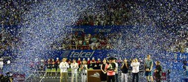 El 25 aniversario del Abierto Mexicano de Tenis contó con la presencia de destacados personajes de la sociedad