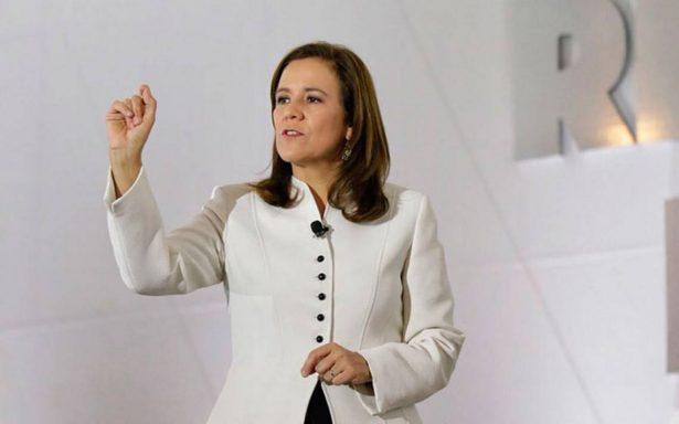 """Margarita Zavala, en desacuerdo con candidatura de El Bronco, """"es un candidato del Tribunal"""""""
