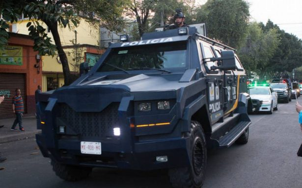 Casi mil 500 policías participan en Operativo Mega en tres delegaciones