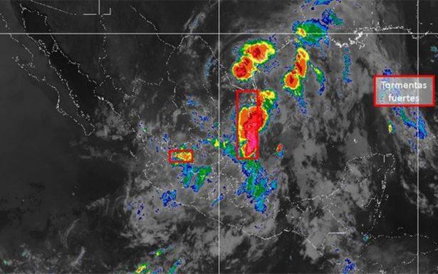 Cuatro sistemas ocasionarán lluvias en la mayor parte del país