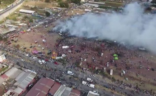 IMSS da de alta a menor herido en explosión de Tultepec