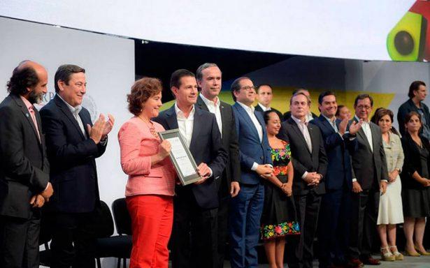 México se perfila como potencia alimentaria: Peña Nieto