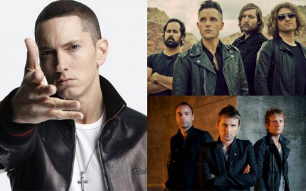 Conoce el festival que tendrá a Eminem, The Killers y Muse
